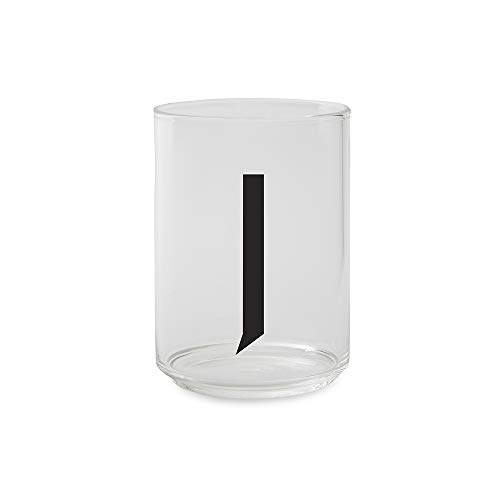 Design Letters trinkglas - J