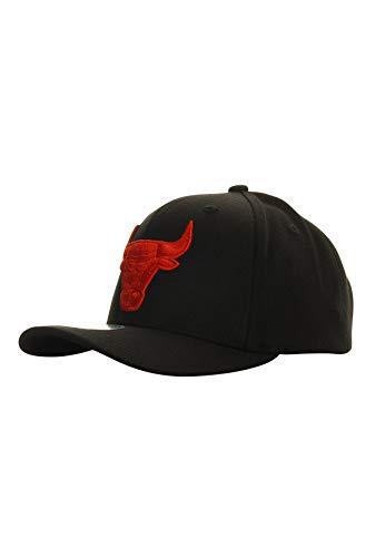 Mitchell & Ness Gorra S21HW041 Duotone Chicago Bulls, color negro, talla única