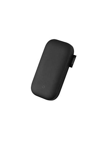Lexon Power Power - Batería externa de inducción con altavoz Bluetooth 360º, color negro