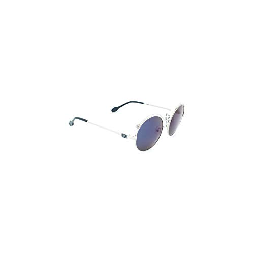 GIANFRANCO FERRE Damen GFF1116-003 Sonnenbrille, Plateado-Azul Oscuro, 53/19/140