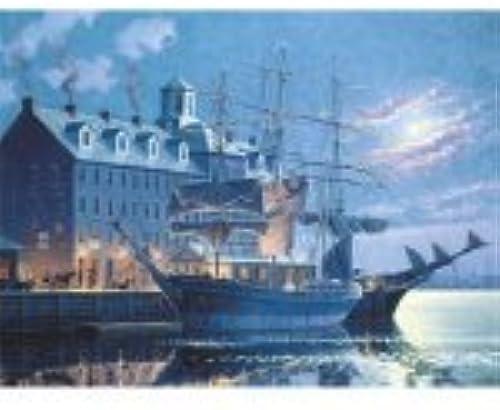Disfruta de un 50% de descuento. Old Old Old Boston By Moonlight 500 Piece Puzzle by SunsOut  se descuenta