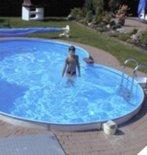 Hobby-Pool-Technologies Schwimmbecken 8-Form Elba 5,25 x 3,20mx1,20m