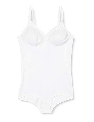 Triumph Damen Formender Body Formfit BS , Weiß (WHITE (03)), One size (90 C)