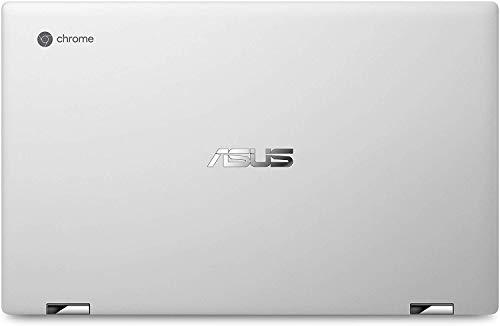 Product Image 4: ASUS Chromebook Flip C434 2-In-1 Laptop- 14″ Full HD 4-Way NanoEdge Touchscreen, Intel Core M3-8100Y Processor, 8GB RAM, 64GB eMMC Storage, Backlit KB, Chrome OS- C434TA-DS384T Silver
