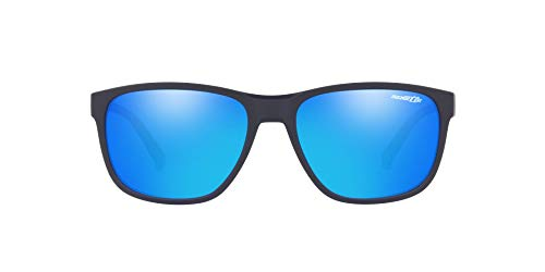 Arnette Heren 0AN4257 Zonnebril, Bruin (Dark Blue), 57.0