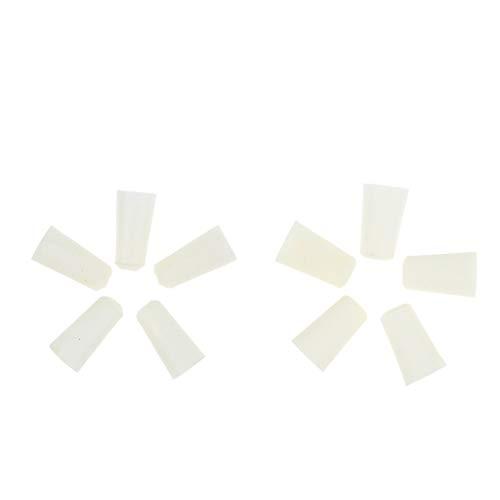 B Baosity - Tapones de silicona para sellar botellas, tubos de ensayo, botellas de 2 tamaños
