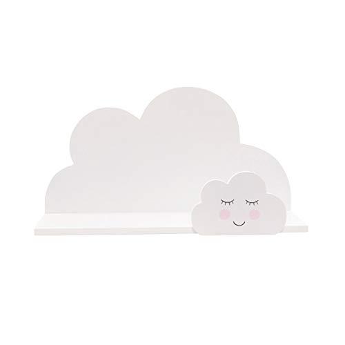 Sass & Belle - Étagère Sweet Dreams nuage (Blanc)
