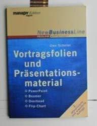 Vortragsfolien und Präsentationsmaterialien,PowerPoint, Beamer, Overhead, Flip-Chart