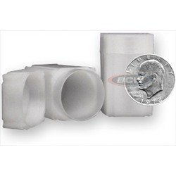 Square Large Dollar Coin Tube(Qty=5 Tubes)