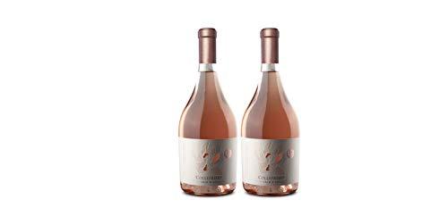 Cerasuolo D'Abruzzo DOC - Cantina COLLEFRISIO - vino Rosato da uve 100% Montepulciano D'Abruzzo - 2X 75cl 13,5%