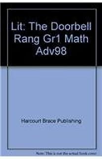 Lit: The Doorbell Rang Gr1 Math Adv98