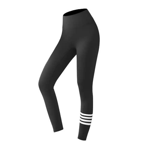 Leggings de Cintura Alta Push-ups Deportes Fitness para Mujer Pantalones de Yoga para Correr Pantalones Delgados sin Costuras de energía Leggings de Gimnasio A XL