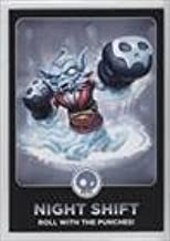 Night Shift (Trading Card) 2013 Topps Activision Skylanders Swap Force - [Base] #27