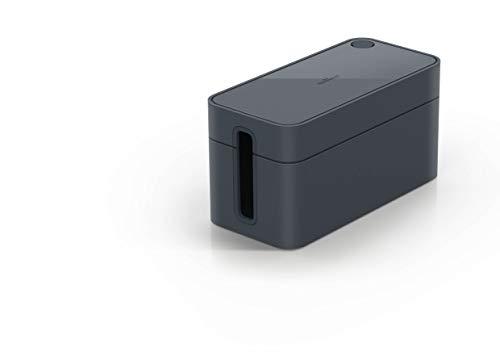 Durable 503537 Kabelbox Cavoline Box S (für 3-fach Steckdosenleiste, mit Gummifüßen, 246 x 116 x 128 mm (B x H x T)) graphit