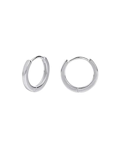 Pendientes Vidal & Vidal colección Trendy de aro de plata