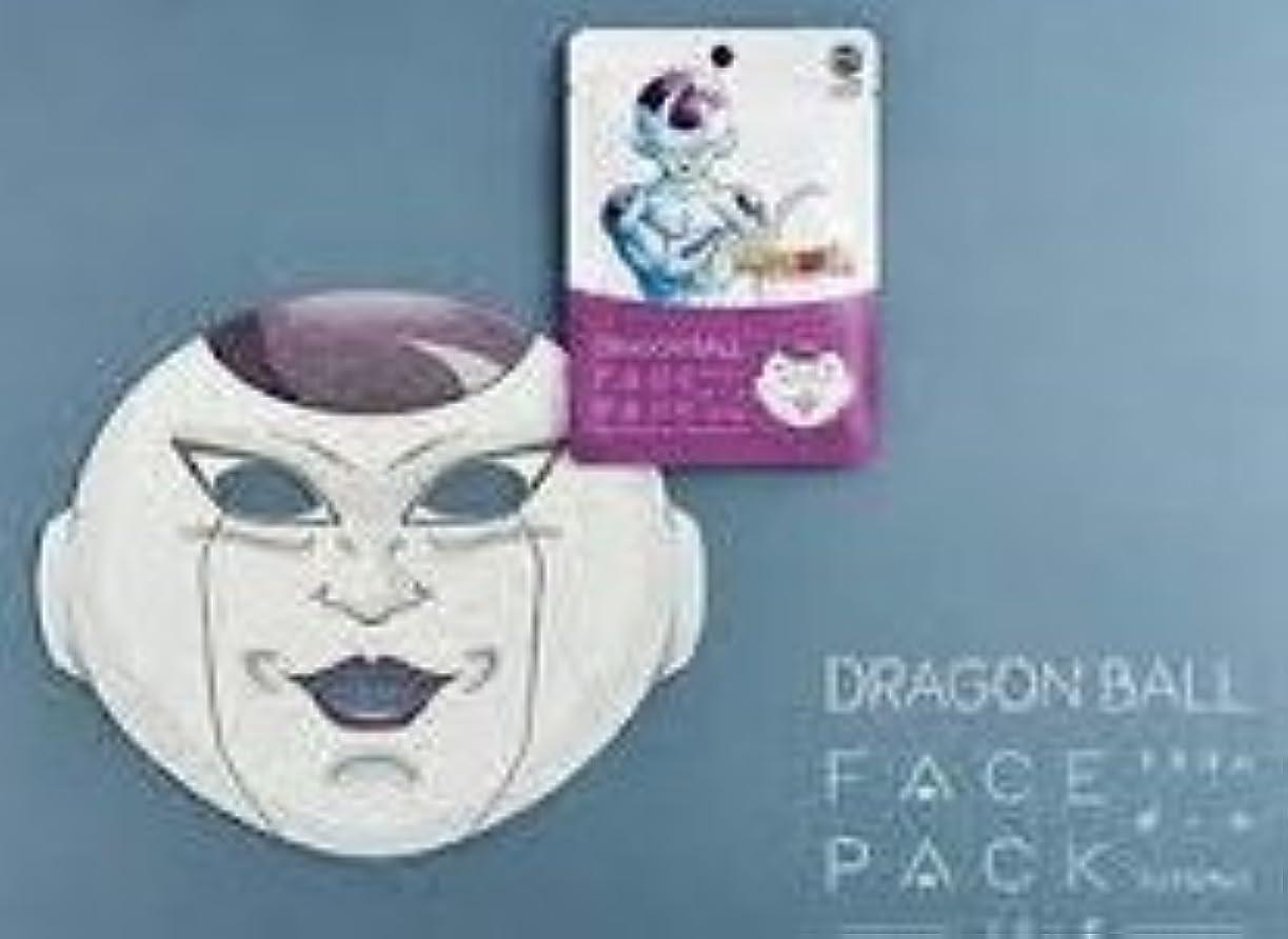 くしゃくしゃ機密先ドラゴンボール【フリーザ】 フェイスパック「クールジャパンフェイスパック」 フェイスマスク