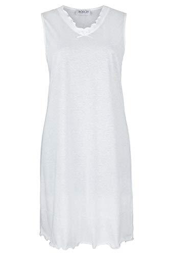 Rösch Damen 1889520 Nachthemd, Weiß (Weiss 10008), 44