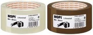 6 X tesa tape Nopi PP 66 mx50 mm bruin UNIVERSAL 57953-00000-00