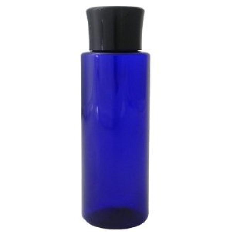 ジャズ知的童謡PETボトル コバルトブルー (青) 100ml *化粧水用中栓