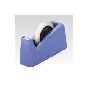 クラウン (業務用セット) テープカッター CR-TC700-BL 青 1個入 (×10セット)