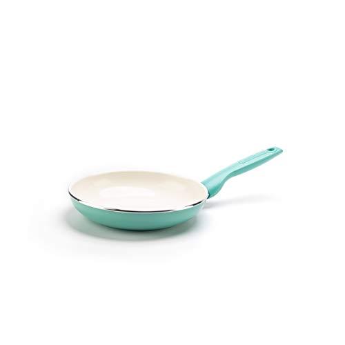 "GreenPan Rio Healthy Ceramic Nonstick, Frying Pan, 7"", Turquoise"