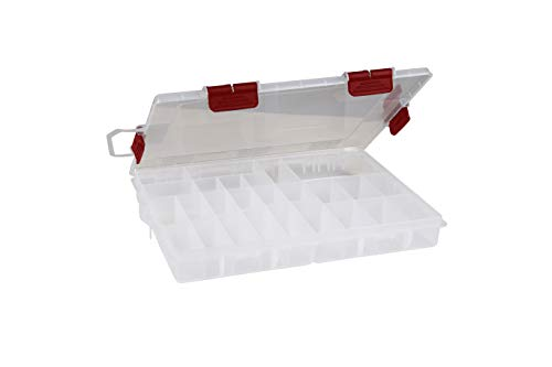 Plano RUSTRICTOR Terminal Stowaway, Premium Tackle Storage with Rust Prevention, Clear