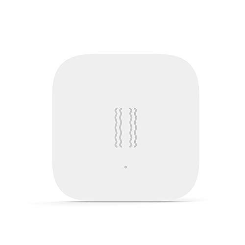 Dewanxin Aqara Sensor De Vibración Incorporado En El Sensor De Movimiento, Alarma Con Sensor De Vibracion Para La Seguridad En El Hogar Inteligente Trabaja Con para Mijia Homekit