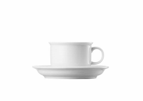 Thomas 11400-800001-28259 Set 2 Kaffeetassen Trend Weiss