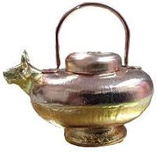 •LM   Gaumukhi Pure Copper Small    Gaumukhi Kamandal Gomukh  for Ganaga jal, Mandir, Home, for Gift    100% Copper Material