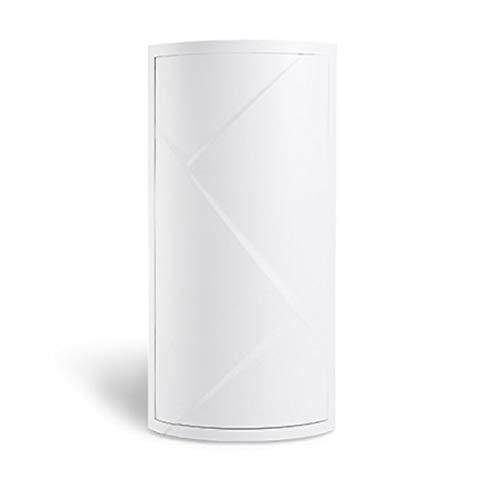 Liseng Estante giratorio de 360 grados para baño, estante de cocina, estante de esquina para baño, armario de almacenamiento multicapa