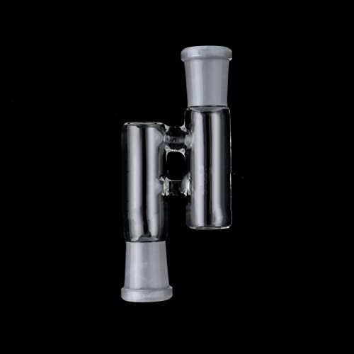 Glass Connecting Adapter 14mm Male to 14mm Male Adapter