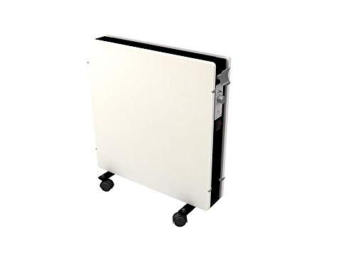 Emerio SH-122556 Speichersteinheizung, perfekte Effizienz aus Infrarot/Konvektor/Heizlüfter, energiesparend, IP20, White Moonstone Design, mobil durch Rollen, 2000 W, 220 V