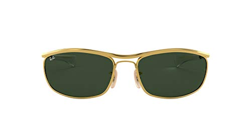 Ray-Ban Unisex Olympian L Deluxe Sonnenbrille, Gold, 62