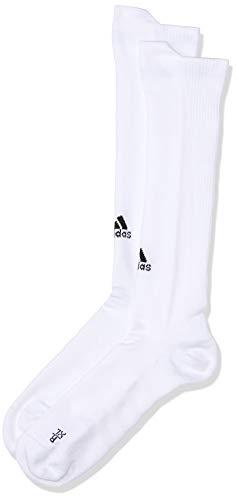 adidas Unisex Erwachsene Alphaskin Over The Calf Lightweight Cushioning Compression Kniesocken, weiß (White), 43-45 EU (XL)