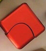 joka international GmbH Spinner Stress-Würfel Fidget Cube, versch. Farben wählbar, Geschicklichkeit, Stressbewältigung 16772 (rot)