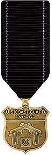 Medals of America Coast Guard Expert Pistol Medal Miniature Bronze