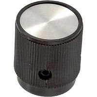 Ehc (Electronic Hardware) Round Knob with Arrow Indicator, 6.35Mm - EH712F2S