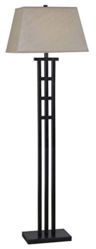 "Kenroy Home 32158BRZ McIntosh Floor Lamp, 18"" x 18"" x 58"", Bronze"