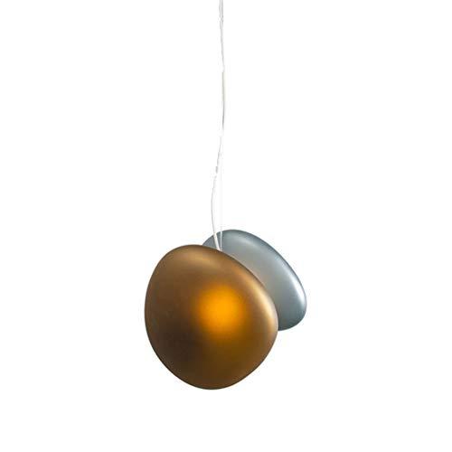 Plastic kroonluchter, ronde kroonluchters glas hangend licht creatieve plafondlamp Empotrada voor keuken trappenhuizen