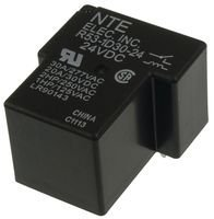 NTE ELECTRONICS R53-1D30-24 RELAY, AUTOMOTIVE, SPST-NO, 24VDC, 30A