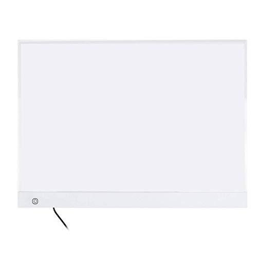 Mesa De Luz Tableta Gráfica Digital De Dibujo A3 LED, Almohadilla De Luz LED Ultrafina, Tablero De Copia, Tableta De Escritura De Pintura De Arte Electrónico Para Ni?os Adultos
