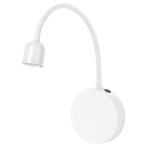 IKEA BLAVIK LED Wandleuchte in weiß; batteriebetrieben