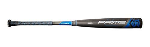 "Louisville Slugger unisex-adult 2020 Prime (-3) 2 5/8"" BBCOR Baseball Bat, 31""/28 oz, Black"