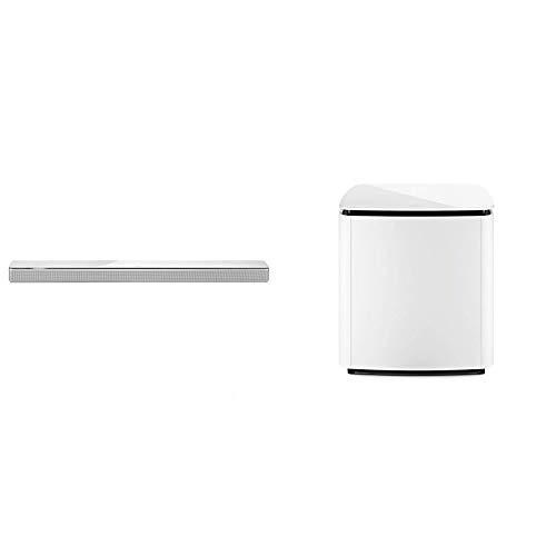 Bose 795347-2200 - Barra de sonido 700, blanco + Bass Module 700, inalámbrico, blanco
