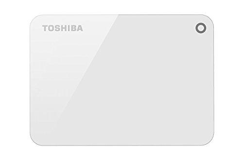 Toshiba HDTC910AW3AA Canvio Advance 1TB USB3.0 External Hard Drive (White)