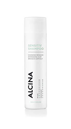 ALCINA Sensitiv-Shampoo - Schonende Reinigung für entspanntes Haar & beruhigte Kopfhaut - 1 x 250 ml