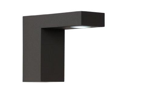 Lucide TEXAS - Spot Mural Extérieur - LED - 1x6W 3000K - IP54 - Noir