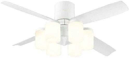 オーデリック シーリングファン(LED51W・電球色) 【DCモーター搭載】 「4枚羽根」 リモコン付き SH9020LDR