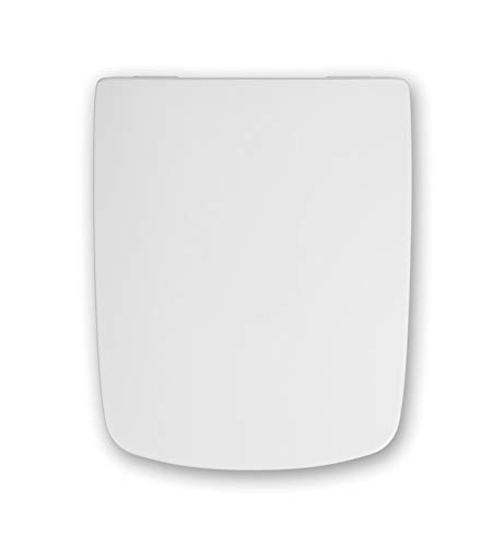 Haro Pele SoftClose Premium WC-Sitz weiss mit Scharnier Klappdübel C4602G für Keramag Premiano
