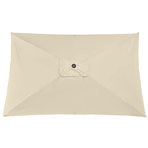 æ— 3 x 2 m rectangulaire de rechange pour parasol de terrasse